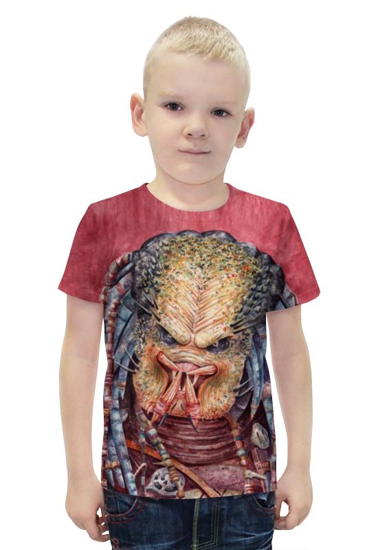 Футболка с полной запечаткой для мальчиков Printio Predator футболка с полной запечаткой для мальчиков printio bats spawn arsb