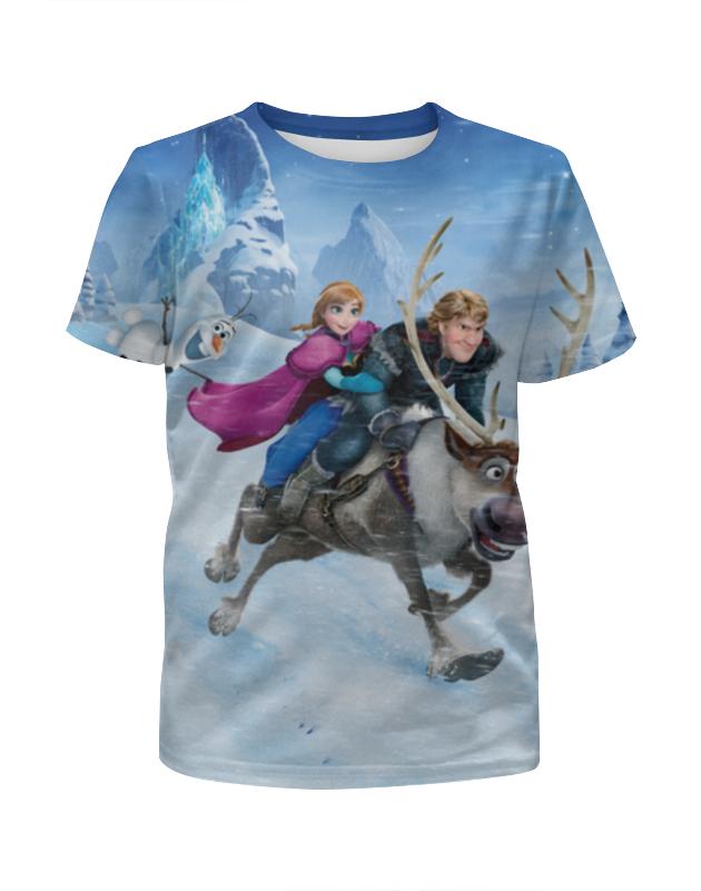 Футболка с полной запечаткой для мальчиков Printio Frozen футболка с полной запечаткой для мальчиков printio braaaaatnsssss