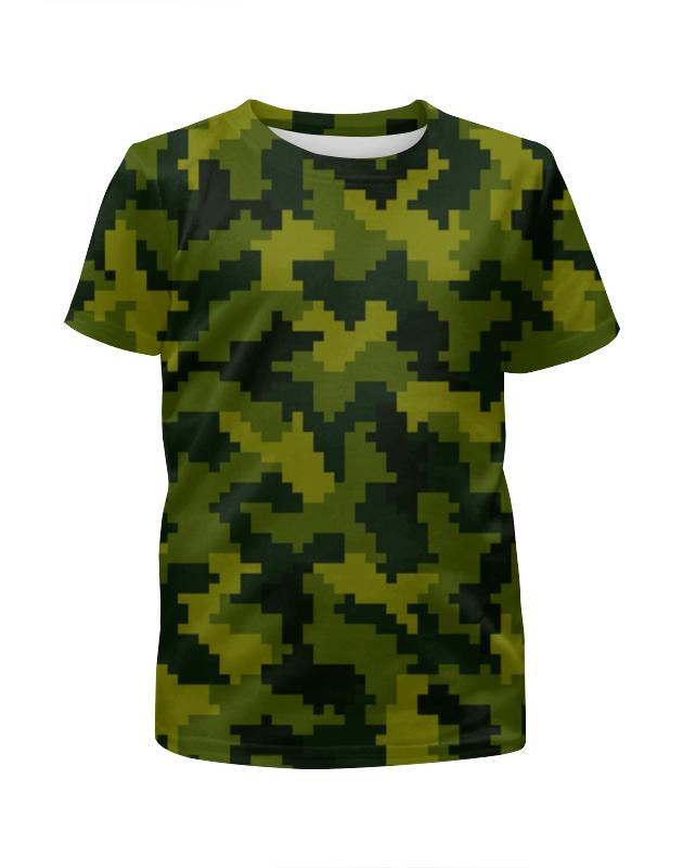 Футболка с полной запечаткой для мальчиков Printio Лето камуфляж футболка с полной запечаткой для мальчиков printio haiku