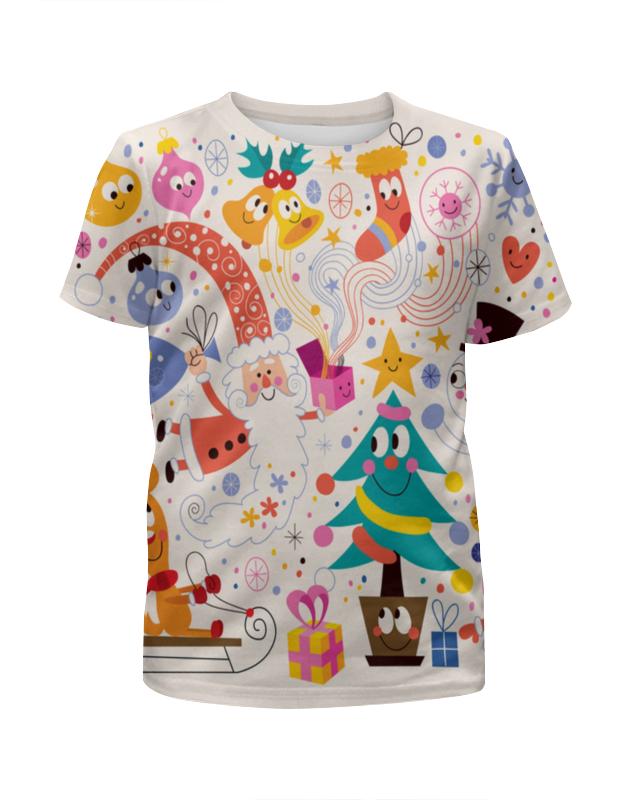 Футболка с полной запечаткой для мальчиков Printio Зимние праздники футболка с полной запечаткой для девочек printio зимние забавы