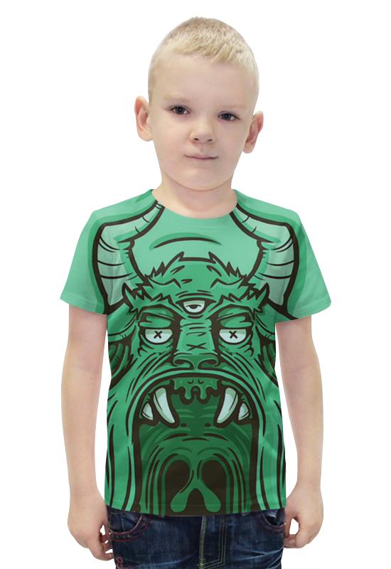 Футболка с полной запечаткой для мальчиков Printio Демон футболка с полной запечаткой для мальчиков printio bats spawn arsb