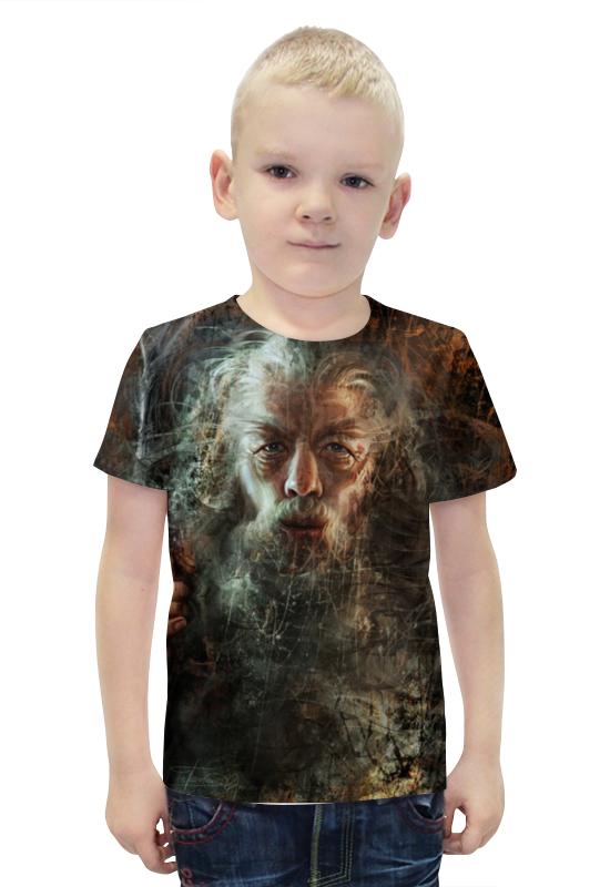 Футболка с полной запечаткой для мальчиков Printio Гэндальф / gandalf футболка с полной запечаткой для девочек printio гэндальф