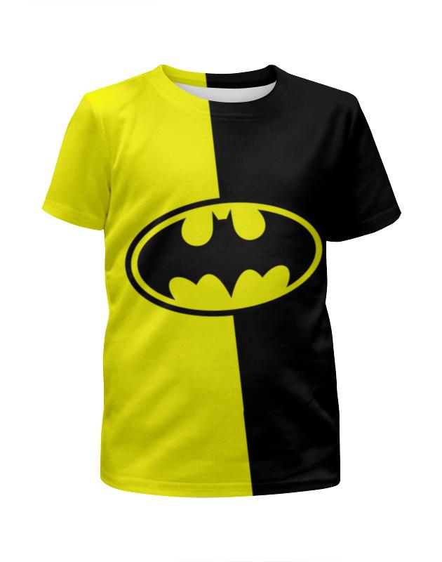 Футболка с полной запечаткой для мальчиков Printio Batman (бэтмен) футболка с полной запечаткой для мальчиков printio batman x joker бэтмен