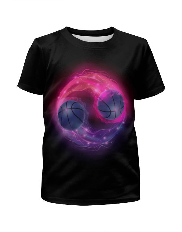 Футболка с полной запечаткой для мальчиков Printio Пламенные мячи футболка с полной запечаткой для мальчиков printio bats spawn arsb