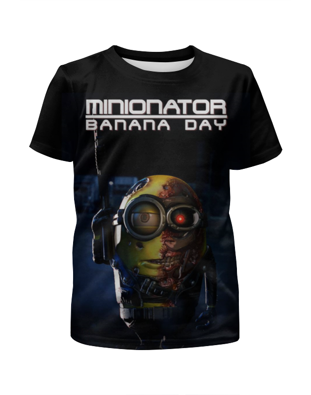 Футболка с полной запечаткой для мальчиков Printio Миньоны / minions футболка с полной запечаткой для мальчиков printio гадкий я миньоны