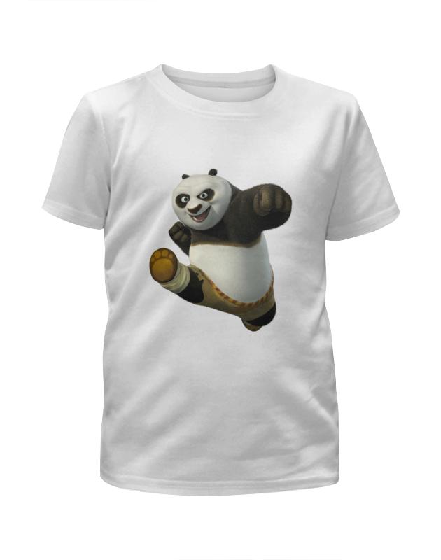Футболка с полной запечаткой для мальчиков Printio Кунг-фу панда