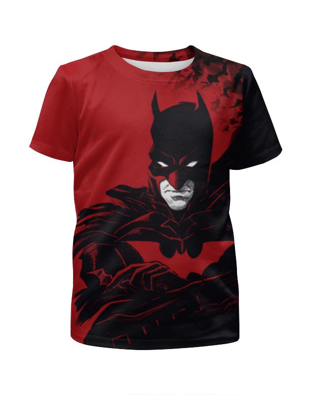 Футболка с полной запечаткой для мальчиков Printio Бэтмен / batman чехол для iphone 5 глянцевый с полной запечаткой printio бэтмен batman