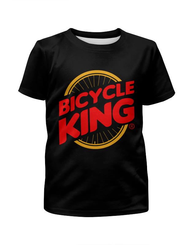 лучшая цена Printio Велосипедный король