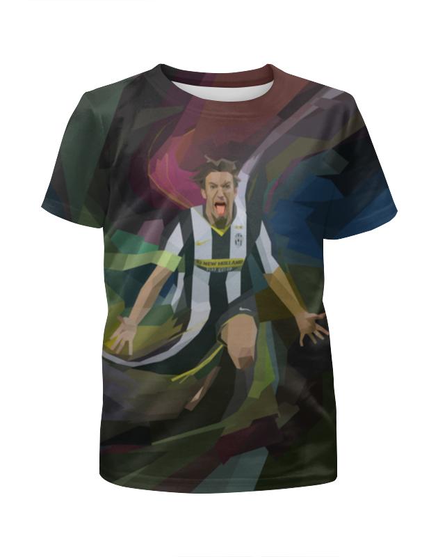 Футболка с полной запечаткой для мальчиков Printio Футбольная мозайка футболка для футбола