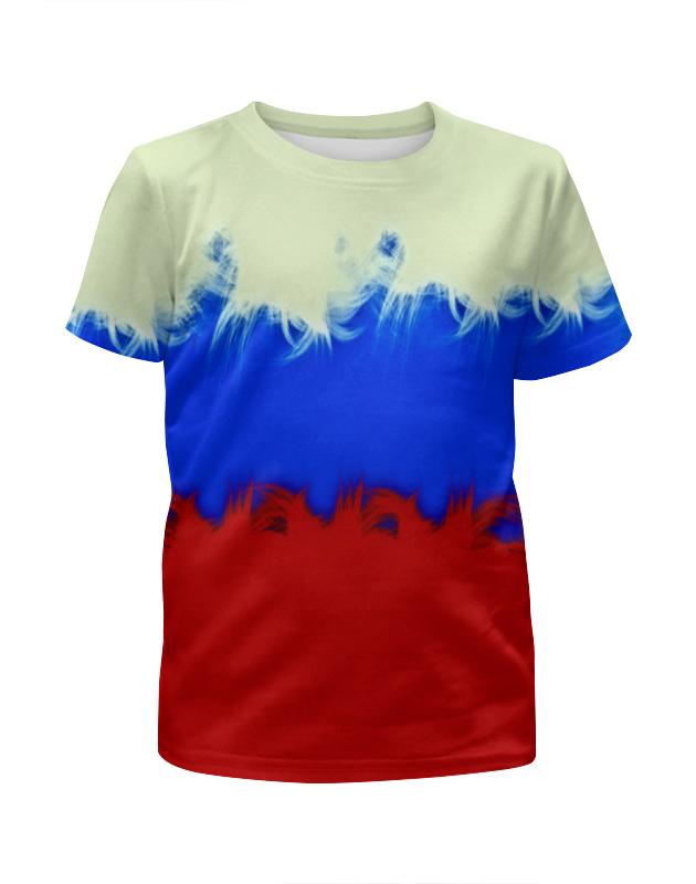 Футболка с полной запечаткой для мальчиков Printio Россия футболка с полной запечаткой printio москва россия