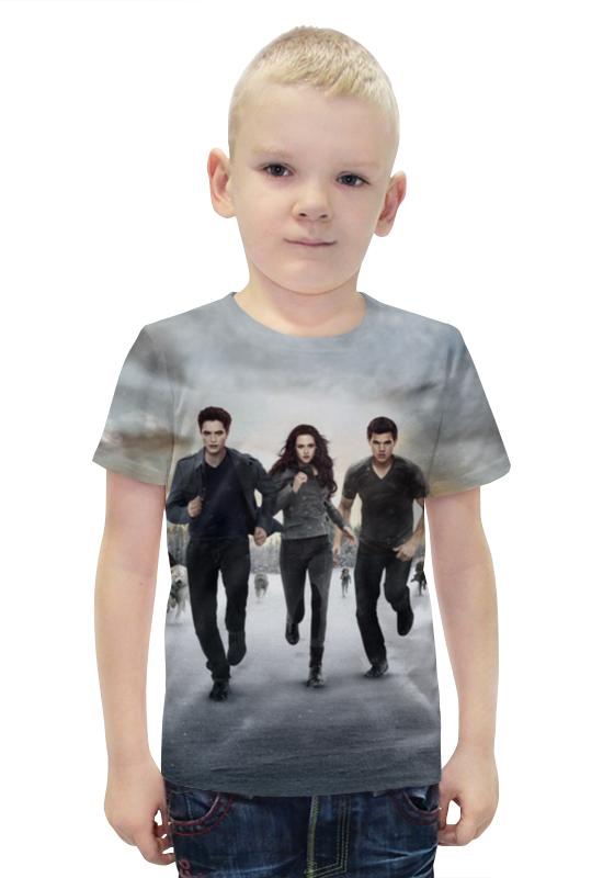 Футболка с полной запечаткой для мальчиков Printio Сумерки футболка с полной запечаткой для мальчиков printio bats spawn arsb