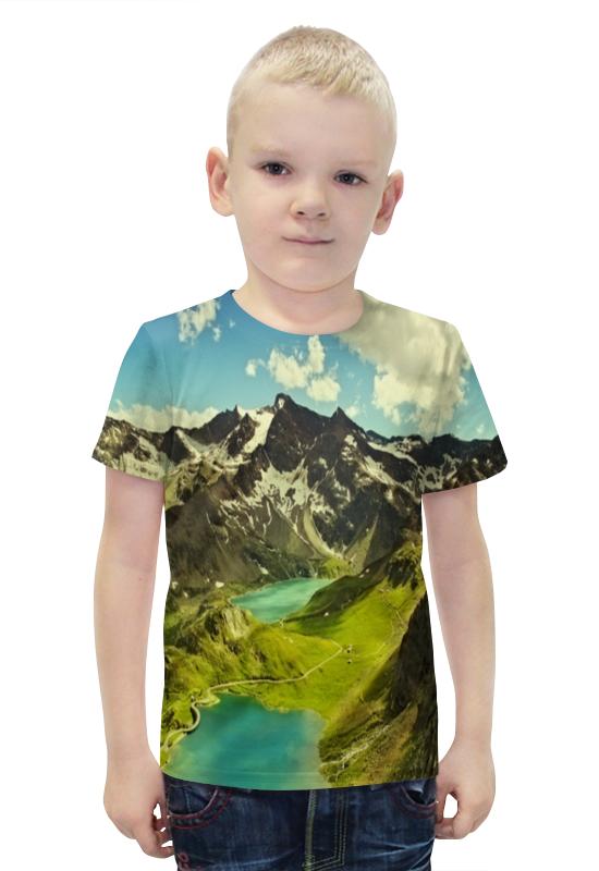 Футболка с полной запечаткой для мальчиков Printio Италия футболка с полной запечаткой для мальчиков printio bats spawn arsb