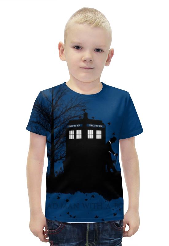 Футболка с полной запечаткой для мальчиков Printio Доктор кто , doctor who футболка с полной запечаткой для мальчиков printio доктор кто doctor who