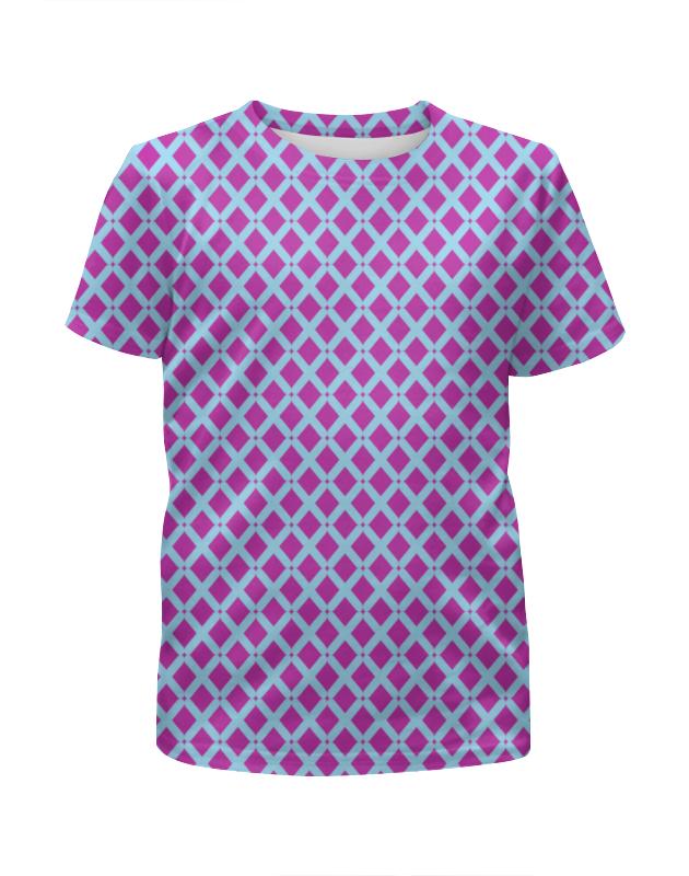Футболка с полной запечаткой для мальчиков Printio Клетка цветная футболка с полной запечаткой для мальчиков printio красная клетка
