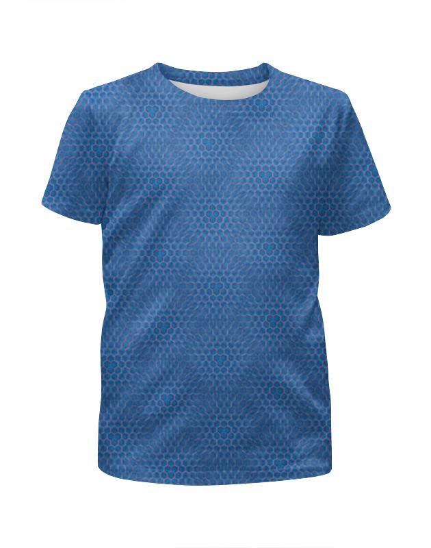 Футболка с полной запечаткой для мальчиков Printio Геометрия соты футболка с полной запечаткой для мальчиков printio пузыри 3d
