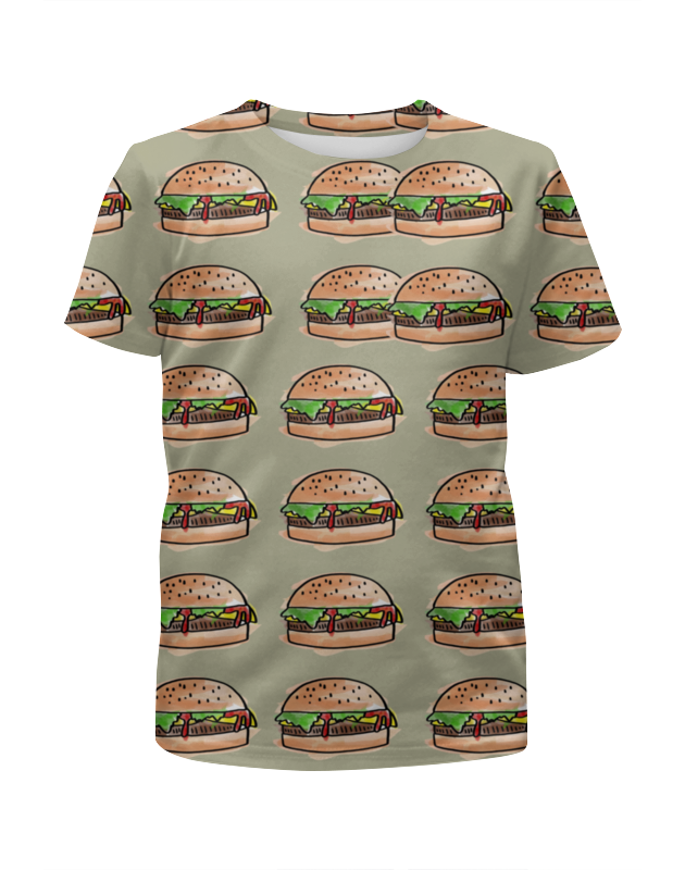 Футболка с полной запечаткой для мальчиков Printio I love burgers! чехол для iphone 5 глянцевый с полной запечаткой printio i love ny