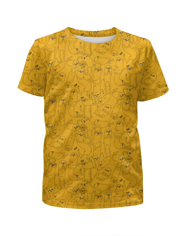 Printio джейк пёс. время приключений футболка с полной запечаткой для мальчиков printio время рыбалки