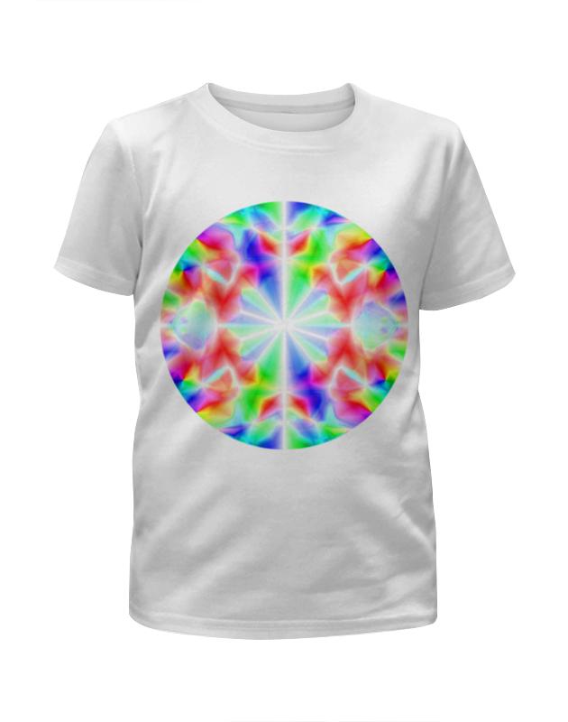 Футболка с полной запечаткой для мальчиков Printio Glitch art (калейдоскоп) футболка с полной запечаткой для девочек printio glitch art чёрная дыра