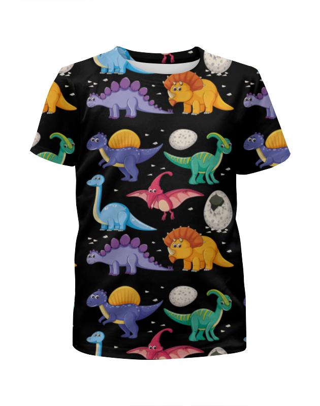 Фото - Футболка с полной запечаткой для мальчиков Printio Динозавры футболка с полной запечаткой для мальчиков printio фиалки