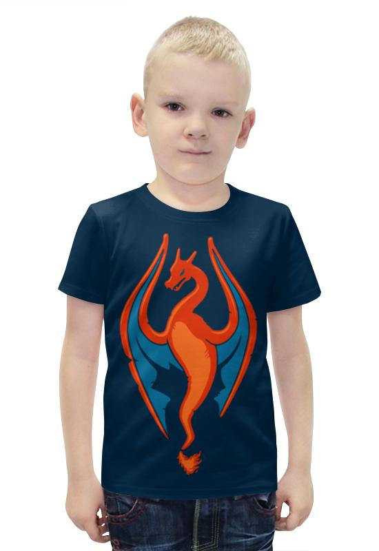 Футболка с полной запечаткой для мальчиков Printio Pokemon футболка с полной запечаткой для мальчиков printio bats spawn arsb