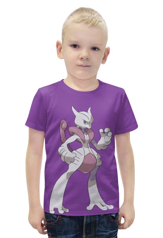 Футболка с полной запечаткой для мальчиков Printio Мьюту футболка с полной запечаткой для мальчиков printio bats spawn arsb