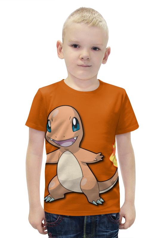 Футболка с полной запечаткой для мальчиков Printio Чармандер футболка с полной запечаткой для мальчиков printio bats spawn arsb