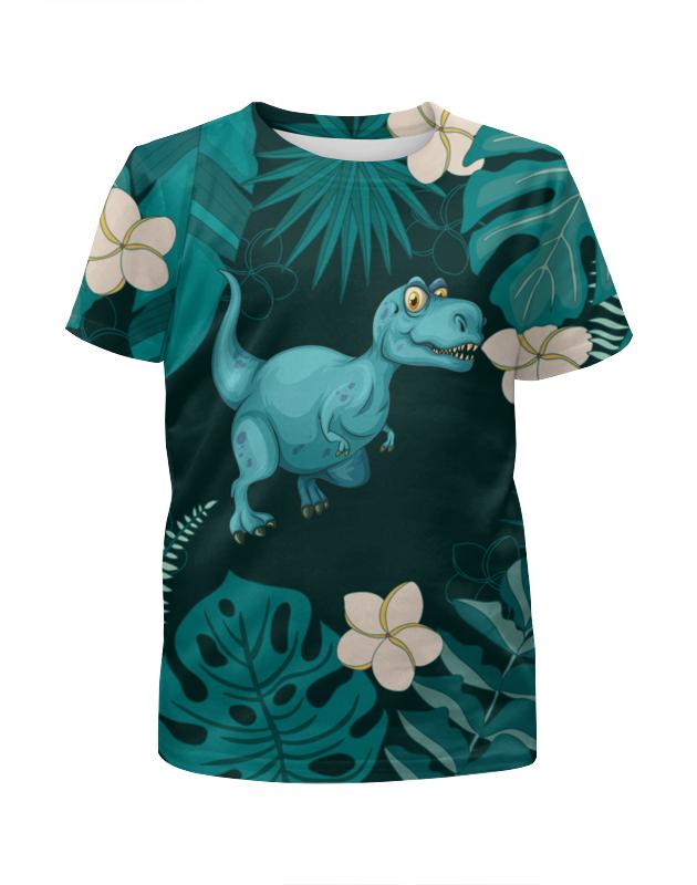 Футболка с полной запечаткой для мальчиков Printio Динозавр ostin футболка для мальчиков