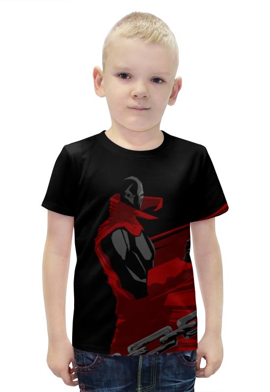 Футболка с полной запечаткой для мальчиков Printio Спаун (spawn) футболка с полной запечаткой printio спаун spawn