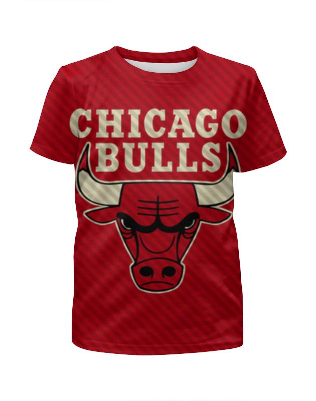 Футболка с полной запечаткой для мальчиков Printio Чикаго буллз (chicago bulls)