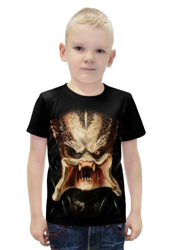 Футболка с полной запечаткой для мальчиков Printio Хищник футболка с полной запечаткой для мальчиков printio slove arsb