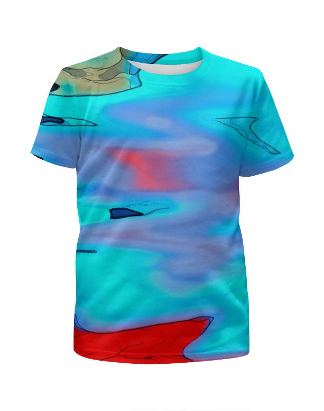 Футболка с полной запечаткой для мальчиков Printio Блики на воде футболка с полной запечаткой для мальчиков printio на отдых