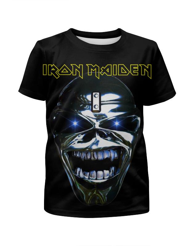 Футболка с полной запечаткой для мальчиков Printio Iron maiden band футболка для беременных printio iron maiden