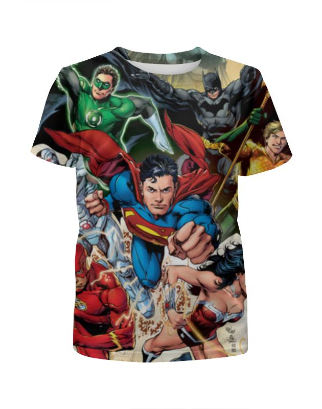 Фото - Футболка с полной запечаткой для мальчиков Printio Супергерои комиксов чехол для iphone 7 глянцевый printio супергерои комиксов