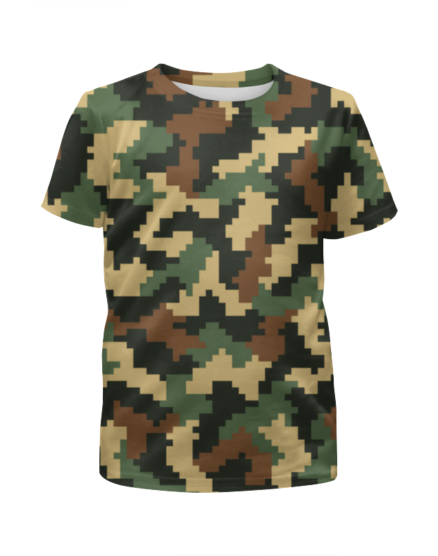 Футболка с полной запечаткой для мальчиков Printio Camouflage футболка с полной запечаткой для мальчиков printio camouflage brown