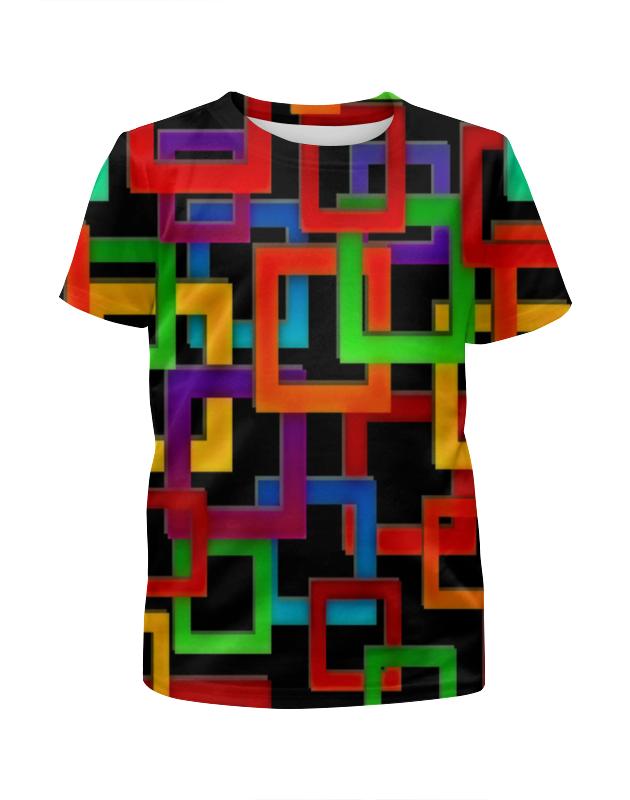 Printio Цветные квадраты цена и фото