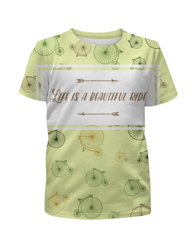 Printio Life is a beautiful ride футболка wearcraft premium printio it s a beautiful life