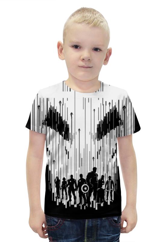 Футболка с полной запечаткой для мальчиков Printio Мстители футболка с полной запечаткой для мальчиков printio bats spawn arsb