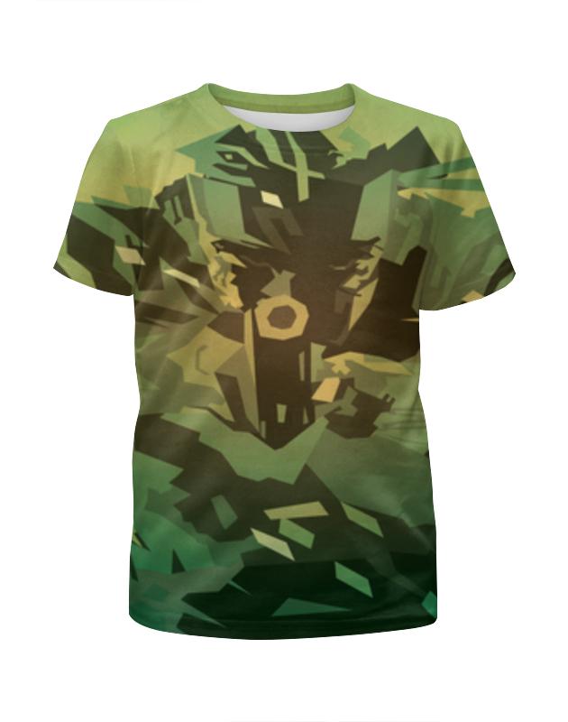 Футболка с полной запечаткой для мальчиков Printio Solid snake (metal gear solid) футболка solid solid so999emarnn1