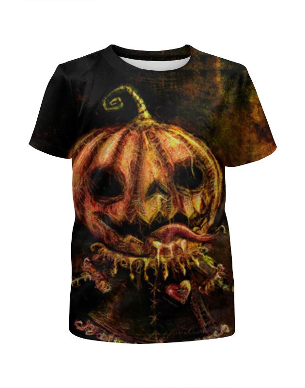 Футболка с полной запечаткой для мальчиков Printio Хэллоуин футболка с полной запечаткой для мальчиков printio ночь всех святых