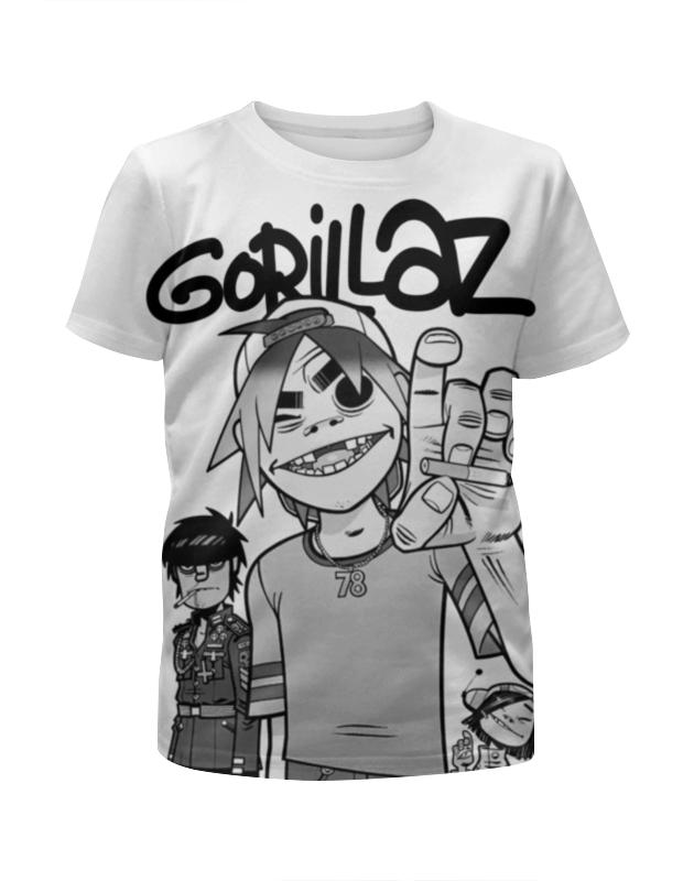 Printio Gorillaz цена и фото