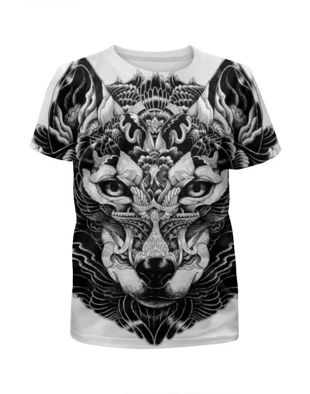 Футболка с полной запечаткой для мальчиков Printio Волк отэц 2 футболка с полной запечаткой для мальчиков printio волк