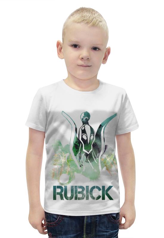 Футболка с полной запечаткой для мальчиков Printio Rubick dota 2 чехол для iphone 5 глянцевый с полной запечаткой printio dota 2 rubick