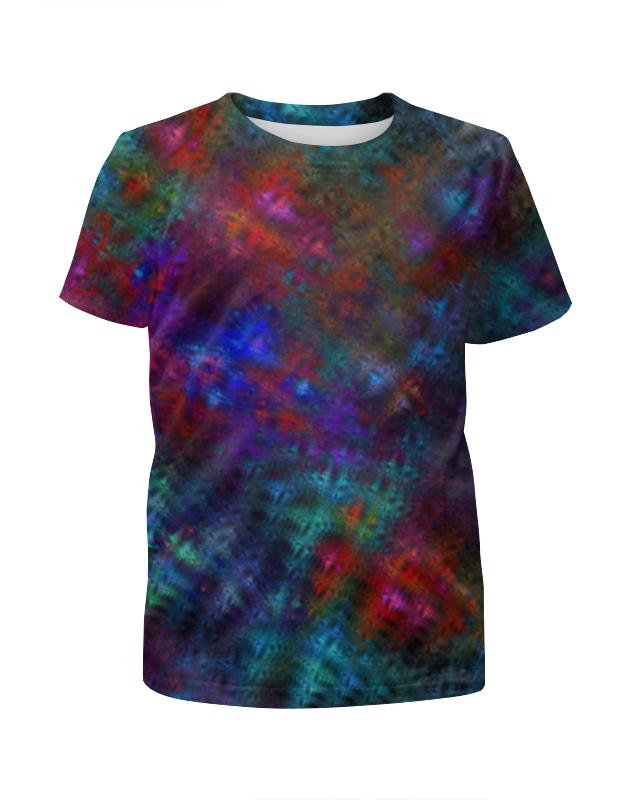 Футболка с полной запечаткой для мальчиков Printio Абстрактный дизайн футболка с полной запечаткой для мальчиков printio абстрактный фон