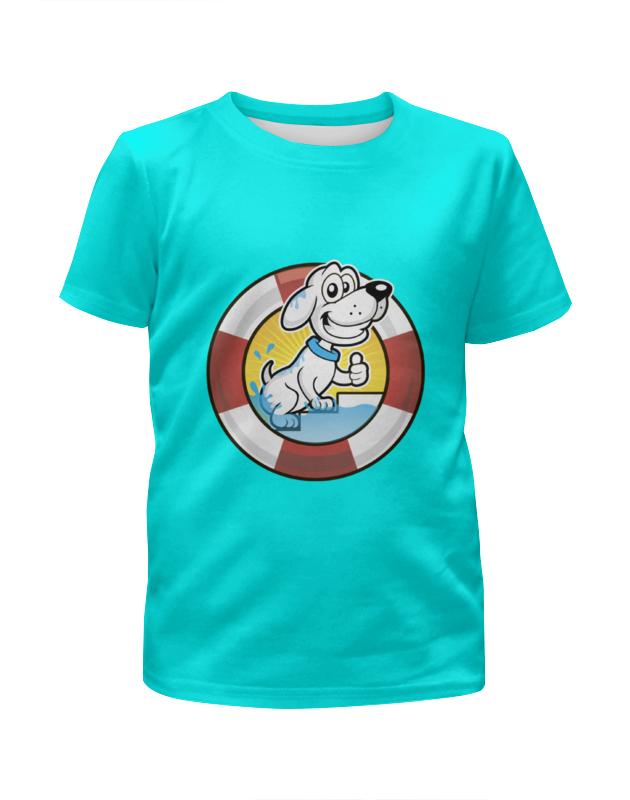 Футболка с полной запечаткой для мальчиков Printio Пёс-спасатель футболка с полной запечаткой для девочек printio пёс бродяга