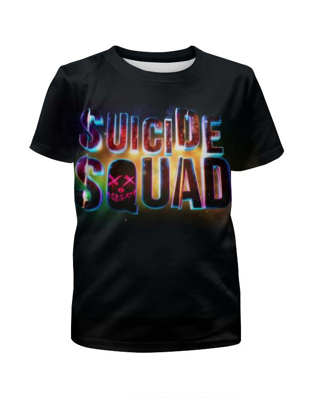 Футболка с полной запечаткой для мальчиков Printio Suicide squad футболка с полной запечаткой для мальчиков printio bats spawn arsb