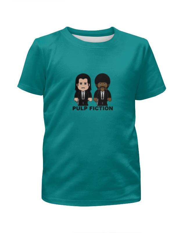 Футболка с полной запечаткой для мальчиков Printio Pulp fiction чехол для iphone x объёмная печать printio pulp fiction сэмюэл джексон