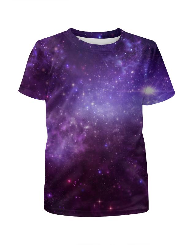 Футболка с полной запечаткой для мальчиков Printio Звезды космоса футболка с полной запечаткой для мальчиков printio фруктовая