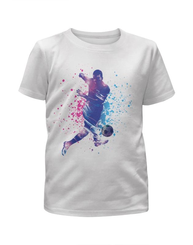 Футболка с полной запечаткой для мальчиков Printio Футбол футболка с полной запечаткой для мальчиков printio haiku