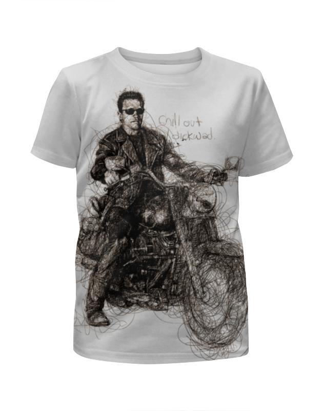 Футболка с полной запечаткой для мальчиков Printio Terminator футболка с полной запечаткой для мальчиков printio braaaaatnsssss