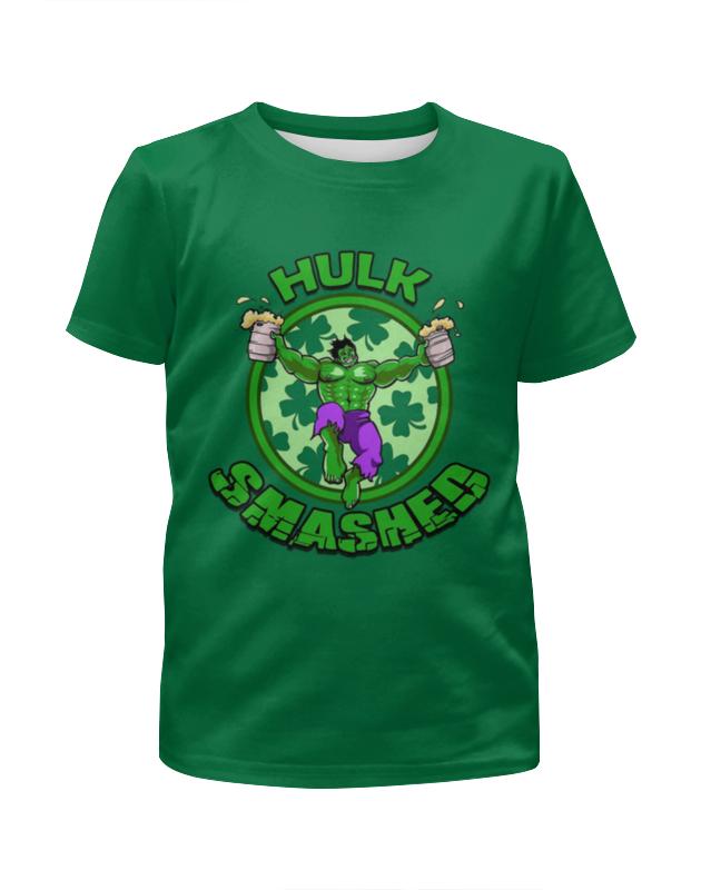 Футболка с полной запечаткой для мальчиков Printio Hulk чехол для iphone 4 глянцевый с полной запечаткой printio the incredible hulk
